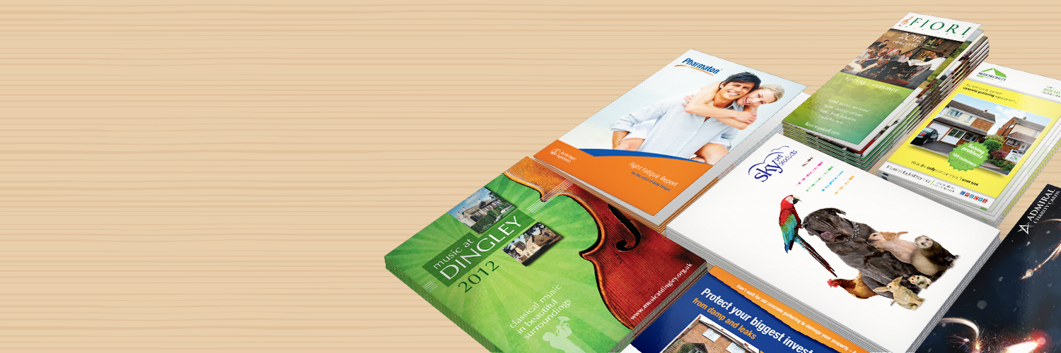 Brochures designed and printed in Wellingborough, Northamptonshire