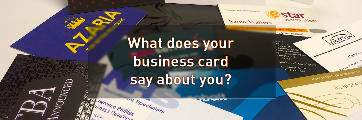 What Does Your Business Card Say About You Admiral Design Print