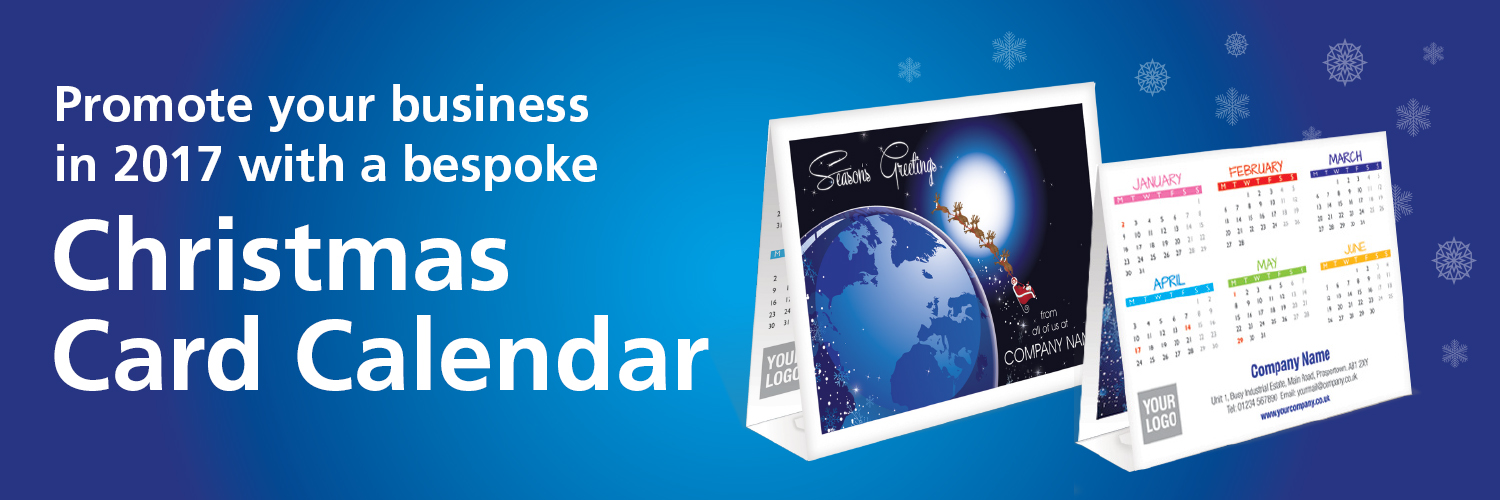 Promote your business in 2017 with a bespoke christmas card calendar promote your business in 2017 with a bespoke christmas card calendar reheart Images