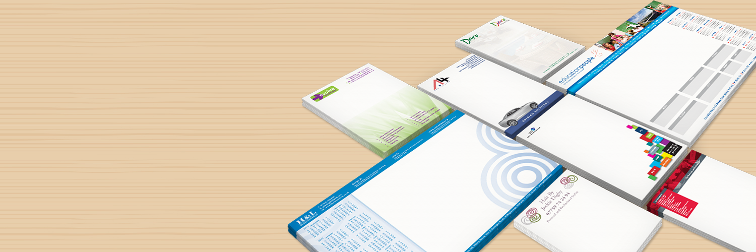 Promotional Note Pad Design & Printing Service in ...