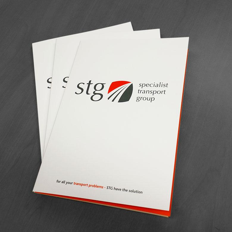 Folders Designed and printed in Wellingborough, Corby, Kettering, Northampton
