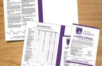 Folders and Leaflets Designed and printed in Wellingborough, Corby, Kettering, Northampton
