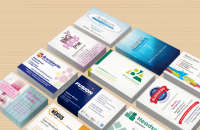 Business Cards designed and printed, Wellingborough, Northamptonshire