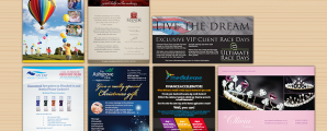 Flyers and Leaflets designed and printed in Wellingborough