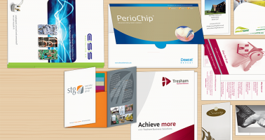 Folders, Forms, Letterheads, Business Cards Designed and Printed Wellingborough, Northampton, Corby, Kettering