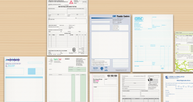 Forms, Letterheads, Business Cards Designed and Printed Wellingborough, Northampton, Corby, Kettering