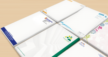 Letterheads designed and printed, Wellingborough, Northamptonshire